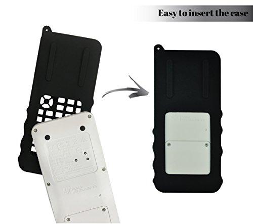 Silicone Case for Ti 84 Plus CE Calculator (Black) - Cover for Texas Instruments Ti-84 Graphing Calculator - Silicon Skin for Ti84 Plus - Protective & Anti-Scretch Cases - Ti 84 Accessories by Sully Photo #2