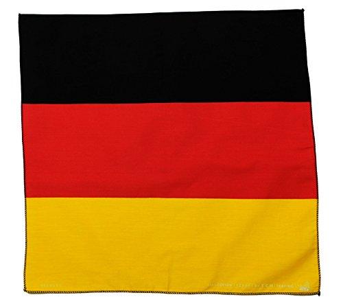 Jhesi Drapeau Allemagne Bandana Bandana Foulard Bandana Chapeau Motard idéales pour Sport ou Loisirs nickituch