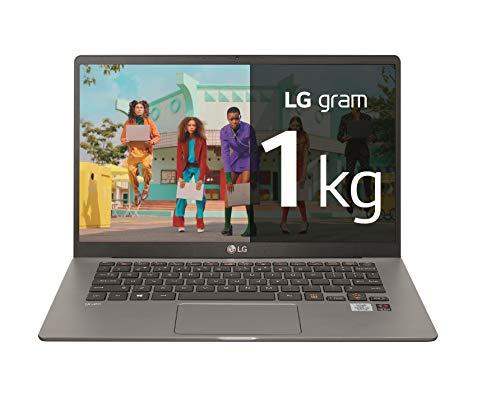 "LG gram 14Z90N-V-AP52B - Ordenador portátil ultraligero de 14"" FullHD IPS (Intel Core i5-1035G7, 8GB RAM, 256GB SSD, Windows 10 Pro) Plata - Teclado QWERTY Español"