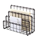 See Jane Work Wire Letter Sorter, 3'H x 7'W x 5'D, Rustic Bronze