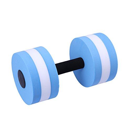 WINOMO Aquahanteln Wasser Hanteln für Wasser Fitness Aquagym Aquajogging