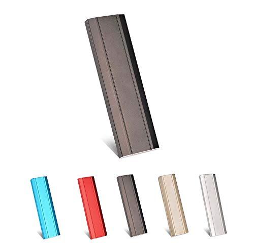 Hard disk esterno da 1 TB USB 3.1 per PC, Mac, PC, PC, computer portatile, Chromebook, Xbox 360(Black-2TB)