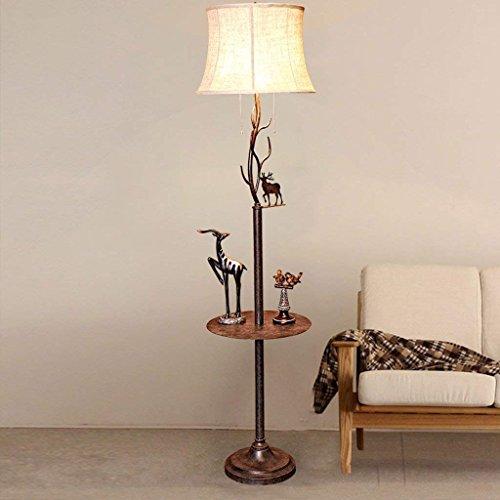 FACAIA Lámpara de pie para Sala de Estar con Mesa de Centro,...