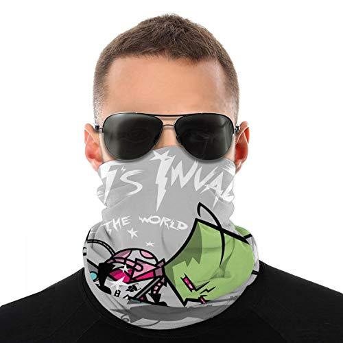 Zim Pilgrim Scott Invader Vs The World Variety Kopftuch Fahrrad Magic Headwear Neck Gaiter Face Bandana Schal