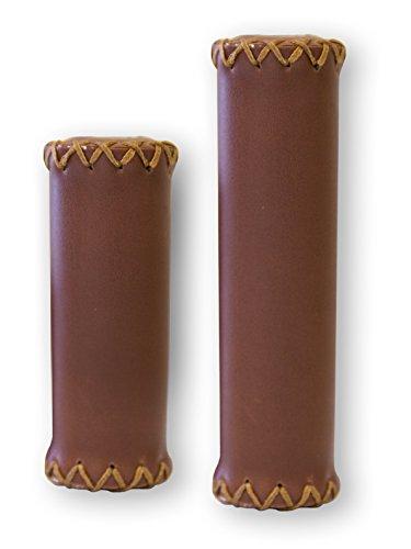 Firmstrong 3-Speed Handlebar Grips, Brown