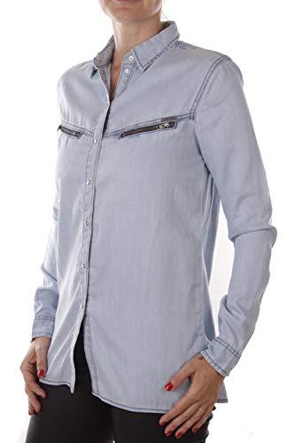 Diesel C-Sovita Camicia da Donna (S, Blu)