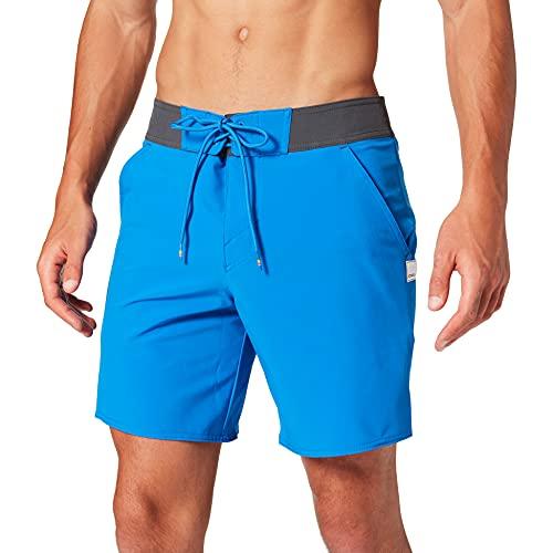 O'Neill Herren Pm Solid Freak Boardshorts Badehose, Blau (5130 Victoria Blue), 38