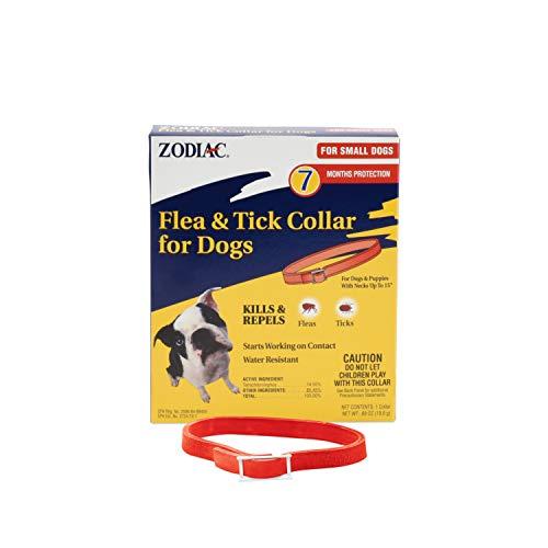 Zodiac Flea and Tick Collar for Small Dogs, 15