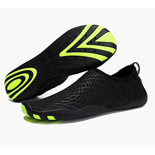 Zapatos de agua descalza, zapatos de traje de neopreno Zapatos de natación Hombres Mujeres para mujer Seca rápida Unisex Sports Aqua Zapatos para nadar en la arena Piscina de playa Surf Ejercicio