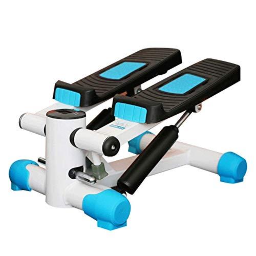YF-SURINA Equipo de deportes de interior Stepper, Fitness Pedal Fitness Home Stepper, Home Multi-Function Mute Stepper Slimming Climbing Machine Mini in-situ Exercise Fitness Equipment, Blanco, 43 *