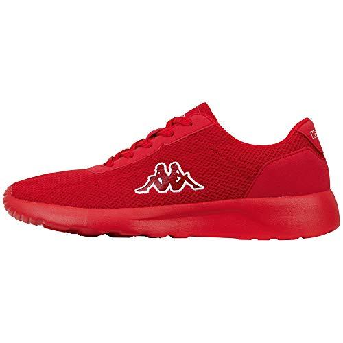 Kappa Herren Tunes OC Sneaker, 2020 red, 43 EU