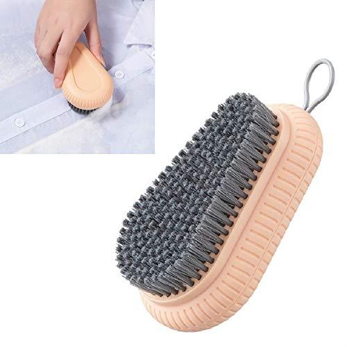 Productos de Limpieza 7 PCS Plástico Soft Soft Lavado Cepillo Limpieza Pincel Majestado Caddy de Limpieza (Color : Lotus Color)