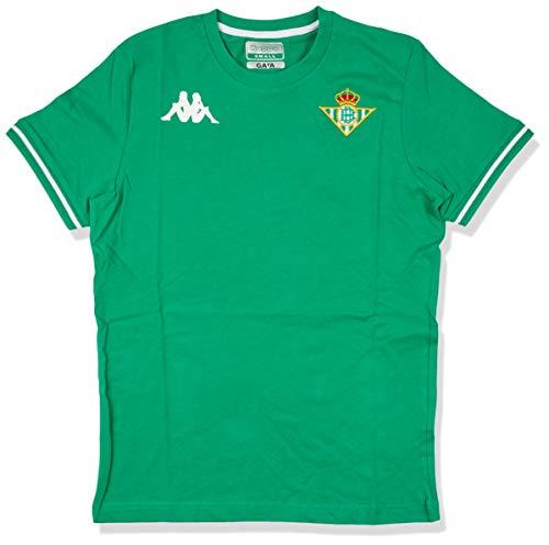 Kappa Zoshim 4 Betis Camiseta, Hombre, Verde, S