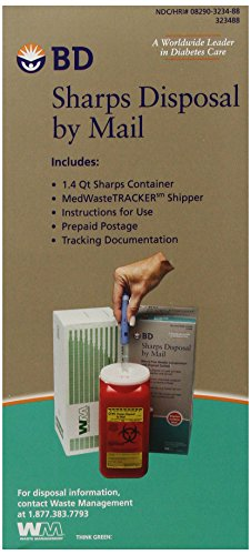 BD Sharps Disposal by Mail Worry free Needle Disposal