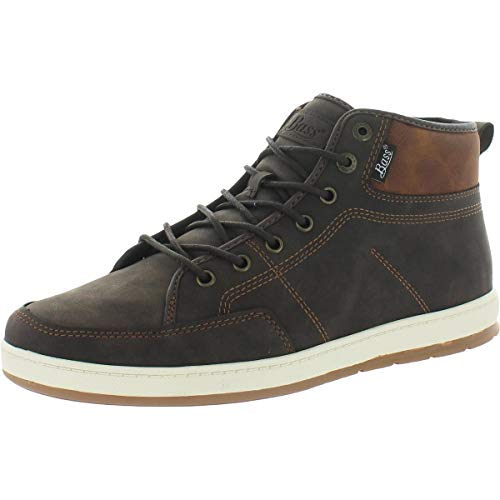G.H. Bass & Co. Mens Barstow WX B Casual Sneaker Boot, Brown/Tan, 8.5 M