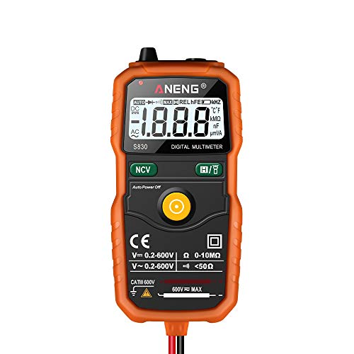 redreamsky Intelligente Multimeter S830 Widerstandsprüfer Spannung CC/AC Display LCD Multimeter Digital Che kann in Giro