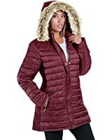 Womens Hooded Winter Warm Coat...