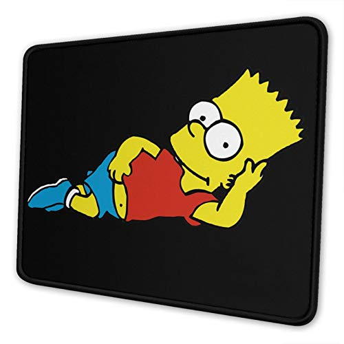 The-Simpsons-Bart Simpson Mouse Pad Mouse Pad Home Office Computer Gaming Mouse Pad 7 X 8.6 in