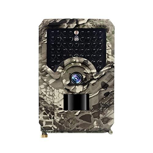 FUNMIX Wildlife Camera, 16MP 1080P Trail Cameras con 49 LED Infrarrojos Sensores Visión Nocturna Detección de 120 ° al Aire Libre Activado por Movimiento Cámara Impermeable Juegos Wildlife Trail