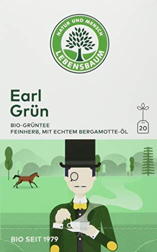 Lebensbaum Bio Grüntee Earl Grün (1 x 30 g)