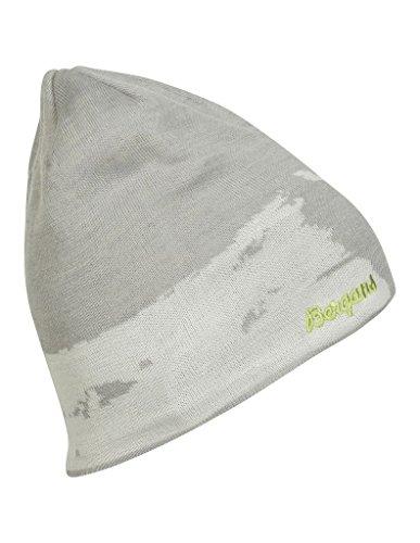 Bergans Ski Beanie Aluminium / White / Spring Leaves -58