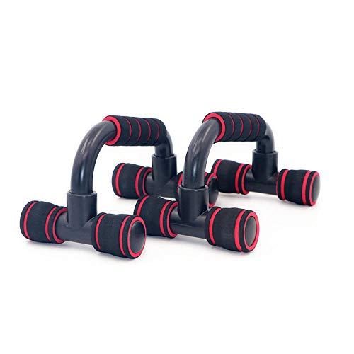 SUMTIX Push up Bars,Flexiones, Mango de Espuma, Stainless Steel Bar, Incline-Press, Skid-Resistant, aparatos para Hacer Ejercicio casa,Unisex Adulto,Bueno para Tu Entrenamiento Muscular