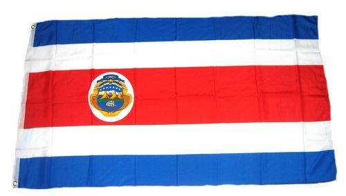 FahnenMax Drapeau Costa Rica 150 x 250 cm