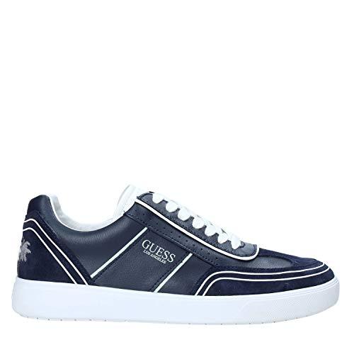 Guess Zapatillas casual para hombre FM6NET LEA12 Mercurio Azul Size: 41 EU