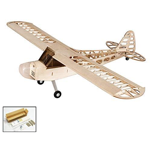 Goolsky S0801 Balsaholz RC Flugzeug 1,2 Mt Piper Cub J-3 Fernbedienung Flugzeug Kit Version DIY Fliegen Modell