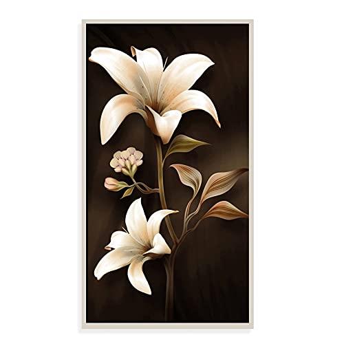 DIY 5D Diamante Pintura Kits Magnolia talla grande Diamond painting por Número Kit Rhinestone Bordado de Punto de Cruz Artes Manualidades Lienzo Pared Decoración Regalo mosaico 70x120cm