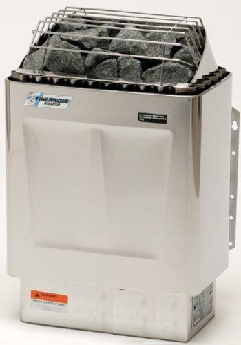 Finlandia FIN-60-S Sauna Heater with F-1T Control, 6kw 240v/1ph, Maximum 300 Cubic feet