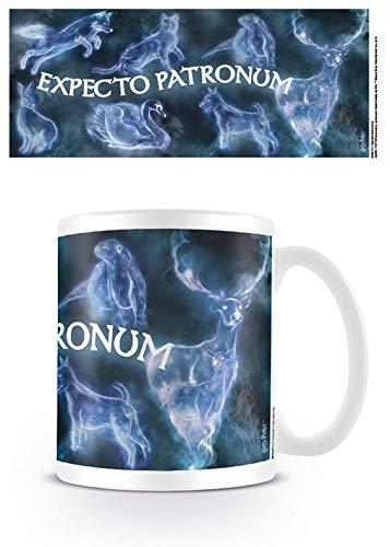 Pyramid International Harry Potter (Patronus) Ufficiale inscatolato Ceramica Tazza da tè/caffè, Carta, Multicolore, 11x 1.3cm, Unica