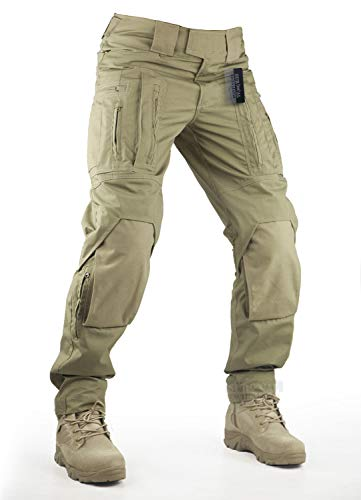 Survival Tactical Gear Pants with Knee Pads...