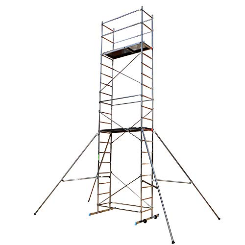 BPS Access Solutions 7m DIY Aluminium Scaffold Tower/Towers