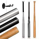Dieker Sports® - Baseballschläger aus Holz - Inklusive Wandhalterung - Rutschfester Griff für...