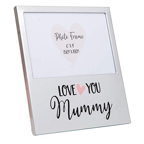 Widdop Love You Mummy - Cornice portafoto a Forma di Cuore