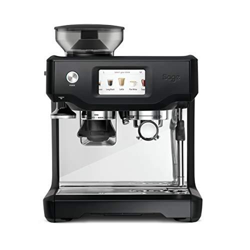 Sage Appliances SES880 the Barista Touch, Espressomaschine, Matt-Schwarz