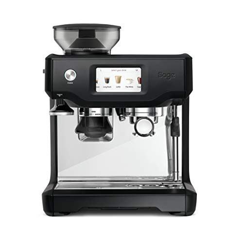 SAGE SES880BTR the Barista Touch, Cafetera espresso, Cappuccinatore, 15 Bar, negro