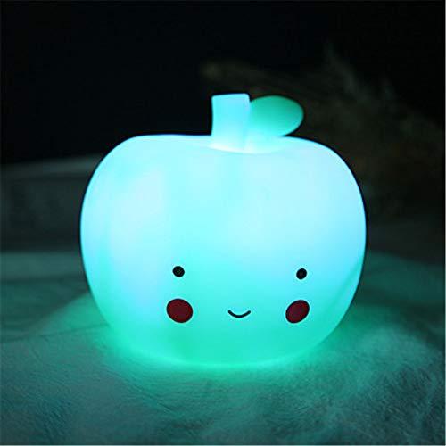 RAILONCH Creative Led Nachtlicht, Apfel, Mond, Einhorn Kinder Nachttischlampe Schlafzimmer...