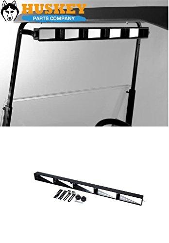 Huskey 5 Panel Universal Wink Glass Mirrors Fits EZGO, Club Car and Yamaha Golf Carts