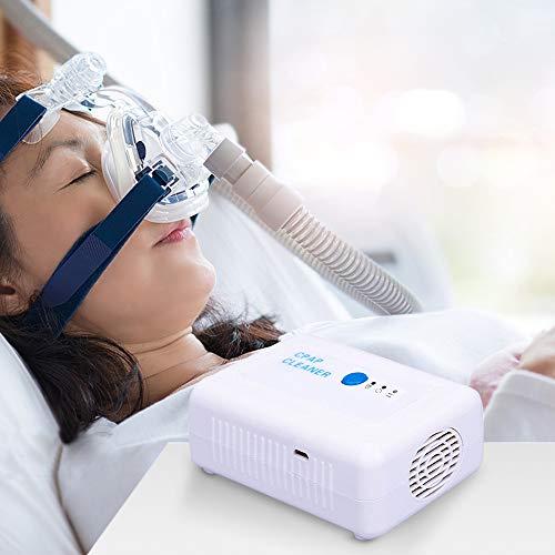 4YANG CPAP Cleaner and Sanitizer Bundle Limpia con Bolsa desinfectante y adaptadores, para Viajes y desinfectante para el hogar CPAP Máquina Manguera Tubo Tubo Accesorios Modelo M1