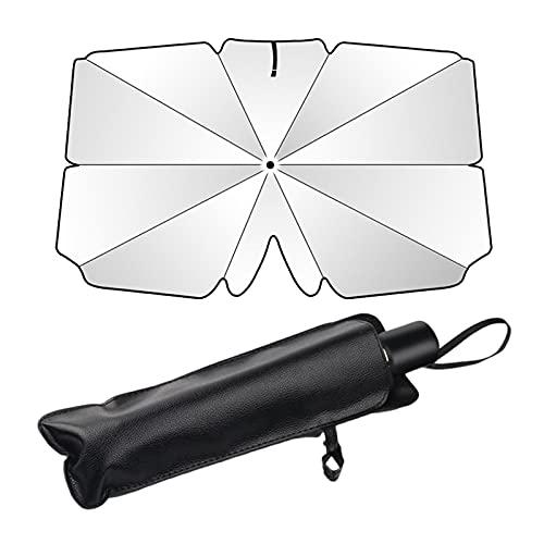 Parasol para parabrisas de coche, parasol plegable para parabrisas de coche, parasol para coche, parabrisas, parabrisas y ventanas delanteras de coche, rayos UV, calor mantiene el vehículo fresco