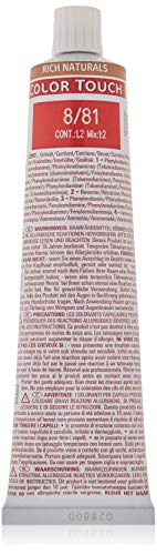 Wella Color Touch 8/ 81 hellblond perl-asch, (1 x 60 ml)