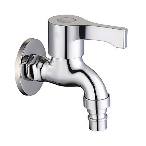Grifos Hogar Splash grifo, solo grifo con grifo extendido, Hilo diseño especial de anti-vertimiento en la salida de agua, que se puede desmontar y limpiar Libremente yughb