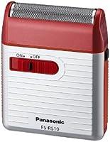 パナソニック メンズシェーバー 1枚刃 赤 ES-RS10-R