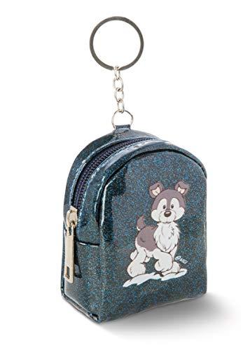 NICI 45766 Mini-Tasche mit Schlüsselring Husky 8 x 9 cm