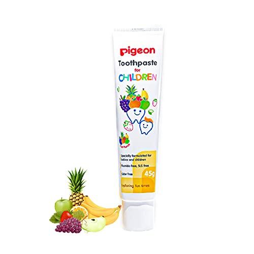 Pigeon Children Toothpaste, Fruit Punch, 45g