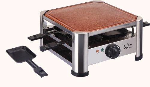 Jata GT402 Terracotta Raclette-Grill für 4 Personen