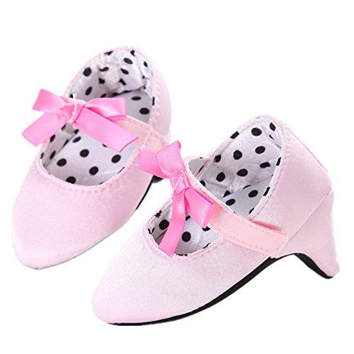 L-Peach Zapatos Fotografía de Tacón para Recién Nacido Bebé Primeros Pasos 0 a 8 Meses