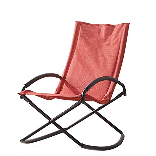AJH Rocking Chair Comfortable Relax Rocking Chair Lounge Chair Leisurely And Comfortable Lounge Chair